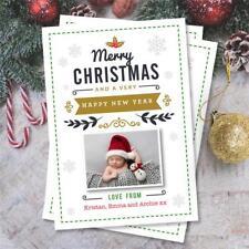 20 Personnalisé Noël Noël photo cartes postales cartes postales Bébé Enfants Animaux
