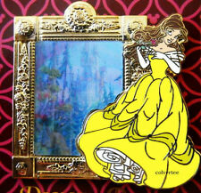 Disney Pin  Princess Belle  Castle Frame Beauty and the Beast  NEW ON CARD