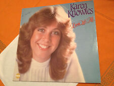 KAREN KNOWLES - LOVES US ALL - Orig.1982 Aus Vinyl Lp FABLE FBSA075 - VG+/NM