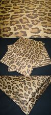 3 Euro European Pillow Cover Sham New Ralph Lauren VENETIAN LEOPARD 450tc fabric