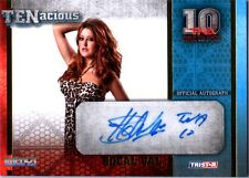 TNA SoCal Val 2012 TENacious GOLD Authentic Autograph Card SN 1 of 100