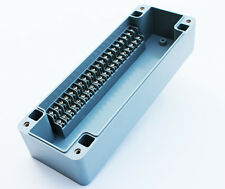 TERMINAL BLOCK ENCLOSURE, 20 POSITION, 10 AMP, IP65, 235X80X56mm, GRAY 1012