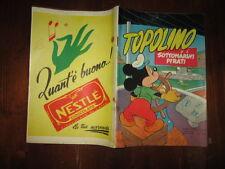WALT DISNEY ALBO D'ORO 1°RISTAMPA N°64 FEB 1953 TOPOLINO E I SOTTOMARINI PIRATI