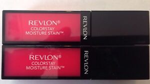2 Revlon Colorstay Moisture Stain Lip Stain # 020 Rio Rush Fast Free Shipping!!