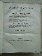 Livres anciens et de collection code napoleon en français