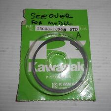 GENUINE KAWASAKI PARTS STD RING KX125 1988/1989 13008-1096A