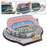 Barcelona Camp Nou Stadion 3D Puzzle Fußballverein Puzzle Modell Spanien BoxeXUI