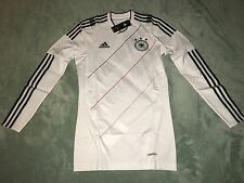 adidas Techfit Germany Authentic Player Issue Soccer Jersey 2010 Sz L