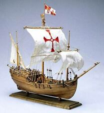"Amati Pinta 17"" Wooden Ship Model Kit Historic Series Columbus' Caravel 1492"