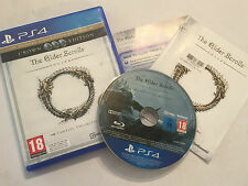 PLAYSTATION 4 PS4 GAME THE ELDER SCROLLS ONLINE TAMRIEL UNLIMITED CROWN EDITION