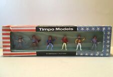 RARE TIMPO 6 PIECE COWBOY PLAY SET TIMPO NEW IN BOX