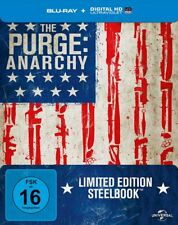 The Purge - Anarchy - Steelbook - BLU-RAY-NEU