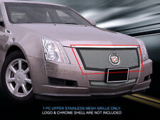Black Stainless Steel Mesh Grille Insert For 2008-2013 Cadillac CTS