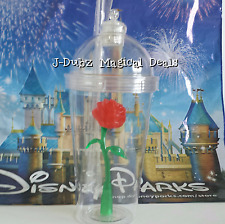 IN HAND BEAUTY AND THE BEAST ENCHANTED LIGHT UP ROSE SOUVENIR CUP WDW