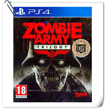 PS4 Zombie Army Trilogy SONY PlayStation Shooting Games Rebellion