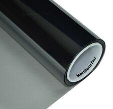"36""x50' Window Tint Roll 50% vlt Light 2ply Ch. Black NR Car Tint Film Roll"