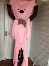 78'' Giant Big PINK TEDDY BEAR Skin no cotton with zipper soft toys doll gift