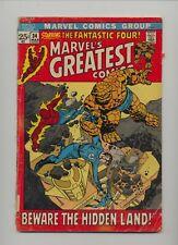 Marvel's Greatest Comics 34 - Marvel - 1972 - GD-+