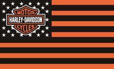HARLEY DAVIDSON Flag Banner 3'X5' STARS & STRIPES: FAST FREE SHIPPING