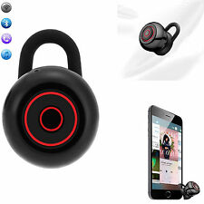 Smallest Mini Bluetooth Headset Earphone Earpiece Stereo For iPhone 7 6 Samsung