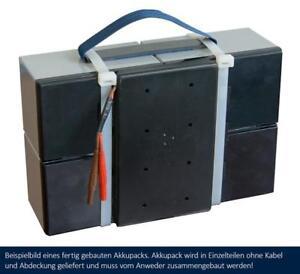 akkuteam Akkupack / Batteriepack Selbstbausatz für Elektroroller Charly 2 (II)