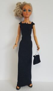 Tiffany Taylor Clothes DRESS, HAND-BEADED PURSE and JEWELRY Fashion NO DOLL d4e