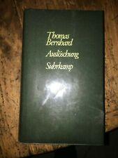 Roman  Thomas Bernhard   Auslöschung   Autogramm  Autograph