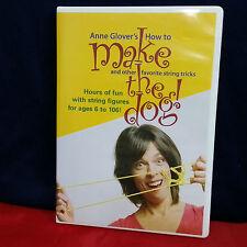 Anne Glover's How to Make the Dog String Tricks Figures Arts and Crafts for Kids
