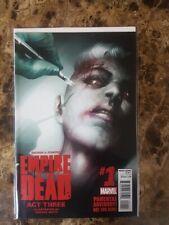 Empire Of The Dead #1 - Act Three - Marvel Comics  - NM