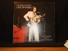 Paul Simon-Live Rhymin' / in Concert