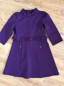 Janie & Jack Girl's Purple Dress 6 years