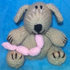 KNITTING PATTERN - Chops the Butcher's Dog chocolate orange cover or 13 cms toy