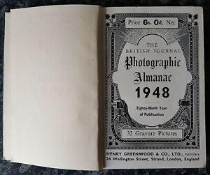 VINTAGE PHOTOGRAPHIC BOOK.1948.ALMANAC.ILLUSTRATED.KODAK.CAMERA.ADVERTISING.PROP