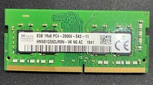 8GB DDR4 2666MHz Hynix HMA81GS6DJR8N-VK Laptop Memory RAM 260-pin