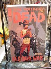 The Walking Dead #126 Image Comics Robert Kirkman All Out War Zombies Negan