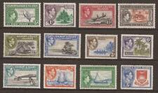 GILBERT AND ELLICE ISLANDS KGVI 1939 SG43/54 Definitives Set of 12 MM (JB16790)