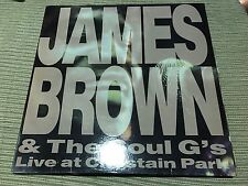 """JAMES BROWN & SOUL G'S SPANISH 12"""" LP SPAIN DOUBLE PACK LIVE AT CHASTAIN FUNK"""