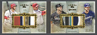 2013 Topps Five Star Quad Patch Mike Trout, Bryce Harper, Stanton, Braun #1/5
