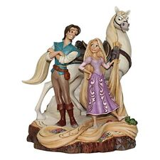 Disney Traditions Tangled Rapunzel Flynn Live Your Dream Figurine 21cm 4059736