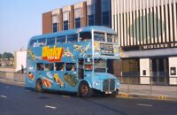 PHOTO London Transport AEC Routemaster Class RM RM952 WLT952 Shepherds Bush 1974