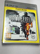 BATTLEFIELD BAD COMPANY 2  PS3 PLAYSTATION 3 PAL NUOVO SIGILLATO
