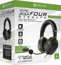 Turtle Beach Ear Force XO Four Stealth Gaming Headset Xbox One NIB New Sealed