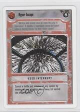 1995 Star Wars Customizable Card Game: Premiere #NoN Hyper Escape Gaming 0j5