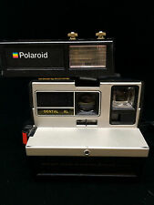 Vintage Polaroid Dental Pro USC Trojans Campus Camera With Case Very Rare