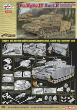 1/35 Dragon Pz.Kpfw.IV Ausf.H Late Production w/Zimmerit #6560