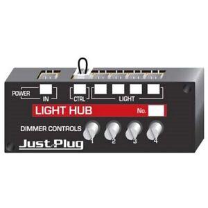Woodland Scenics JP5701 Just Plug Lights and Hub Set