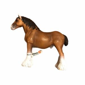 SLEICH Brown Horse Figure Figurine Play Collectible Tag On