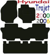 Hyundai Trajet DELUXE QUALITY Tailored mats 2000 2001 2002 2003 2004 2005 2006