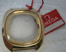OMEGA  ELECTRONIC f300Hz CHRONOMETER 198.0076 GOLDFILLED  Case top