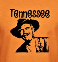 Tennessee Jed Grateful Dead Hand printed t shirt Vintage Style S-5Xlg orange